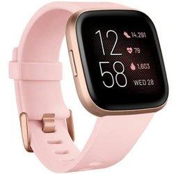 Smartwatch - Zegarek Fitbit Versa 2 różowy