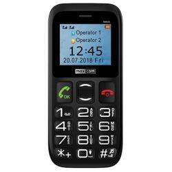 Telefon MaxCom MM426 czarny