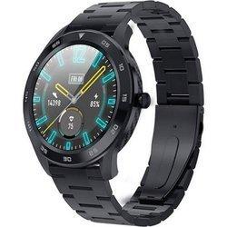 Zegarek - Smartwatch Garett GT22S czarny - stalowy
