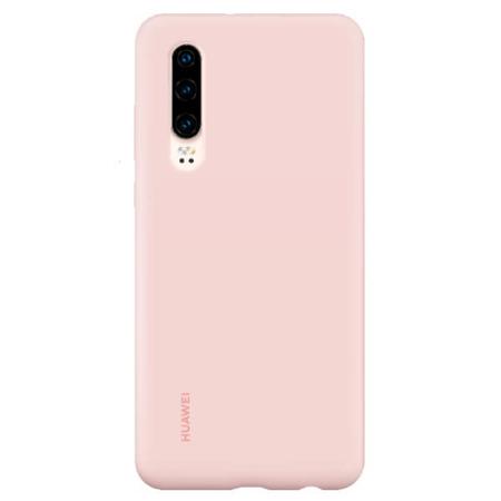 Etui Case do Huawei P30 silikonowe różowe