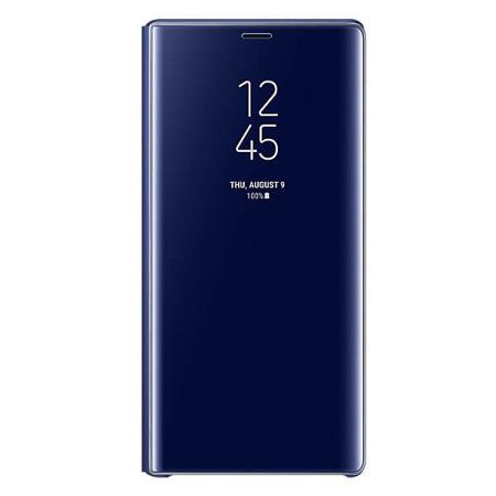 Etui Clear View Standing do Samsung Note 9 niebieskie