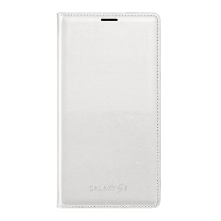 Etui Flip Cover do Samsung Galaxy S5 White