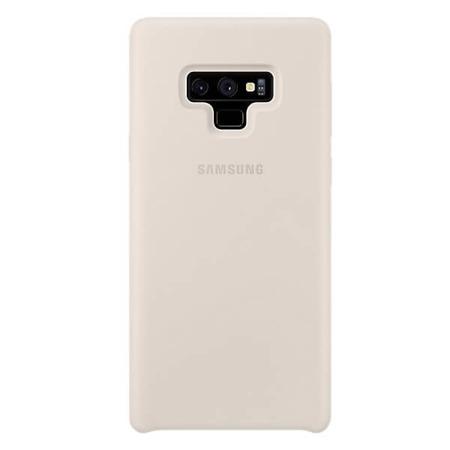 Etui Silicone Cover do Samsung Note 9 białe