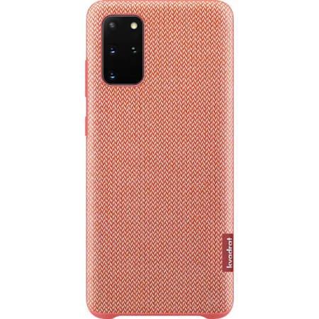 Etui do Samsung Galaxy S20+ materiałowe czerwone