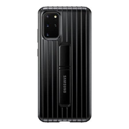 Etui z podstawką do Samsung Galaxy S20+ czarne