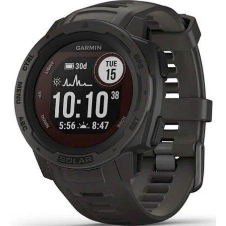 GARMIN Zegarek Instinct Solar, GPS Watch, Graphite, WW