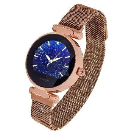 Garett smartwatch Garett Women Lisa złoty, stalowy