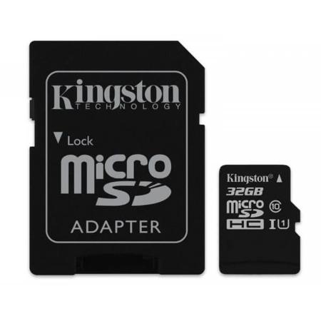 Karta microSDHC Kingston Canvas Select 32GB + adapter