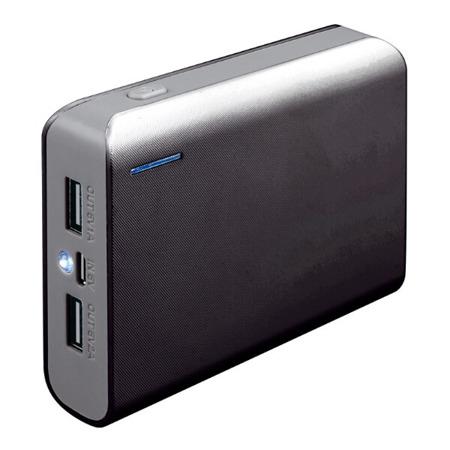 Powerbank Platinet 6000mAh + kabel microUSB czarny