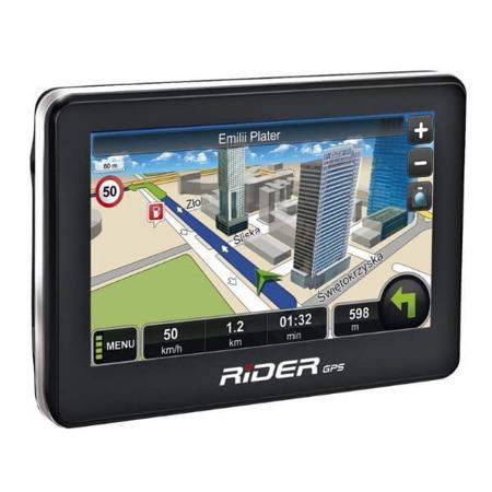 RIDER Nawigacja Rider GPS MapaMap PL dożywotnia