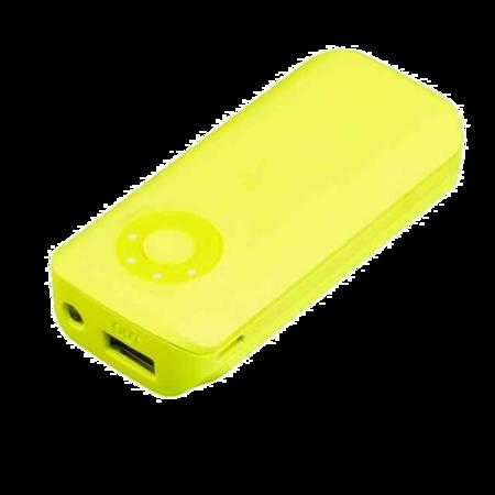 SUNEN PowerBank E5600G 5600mAh, 2.1A Żółty