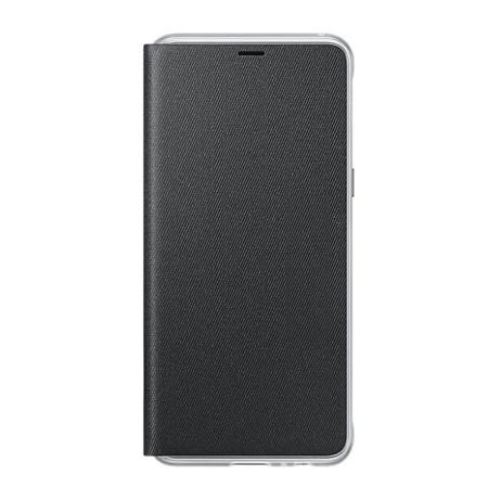 Samsung Etui Neon Flip Cover do Galaxy A8 (2018) Czarny