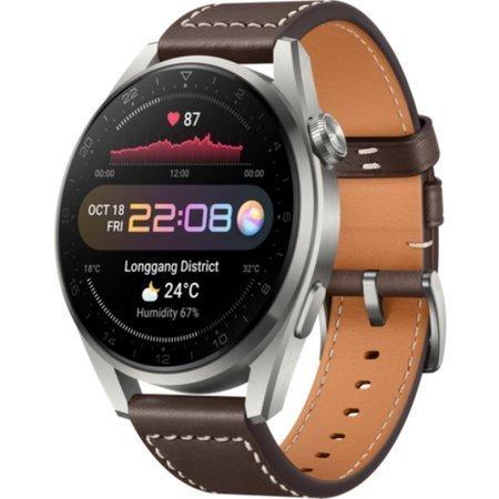 Smartwatch Huawei Watch 3 Pro srebrny, brązowy