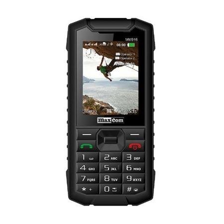 Telefon MaxCom MM916 Strong DS czarny