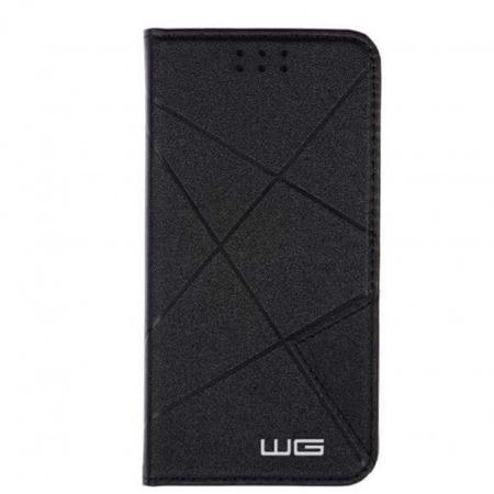 WG Pokrowiec Cross Flipbook czarny Samsung Galaxy S8