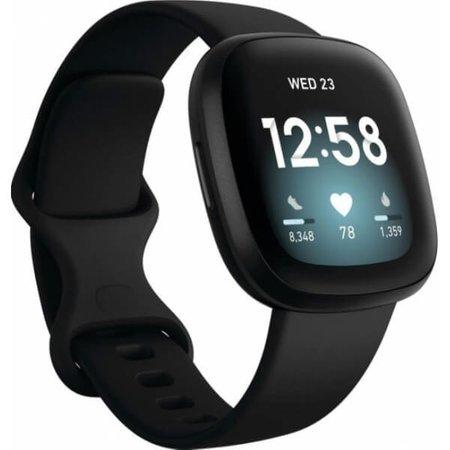 Zegarek - Smartwatch Fitbit Versa 3 czarny