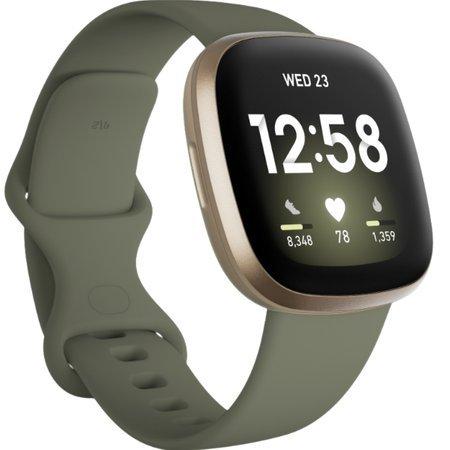 Zegarek - Smartwatch Fitbit Versa 3 zielony