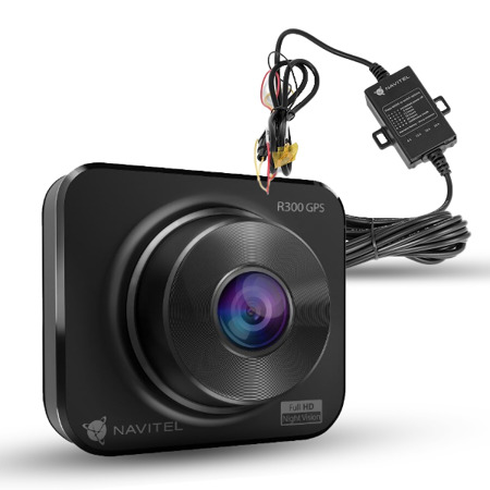 Zestaw: Wideorejestrator Navitel R300 GPS + Adapter Zasilania Smart Box