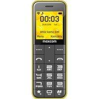MaxCom Classic MM111 żółty + wymienne obudowy