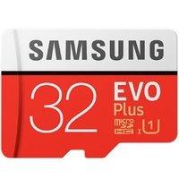 MicroSD Samsung EVO Plus 32GB z adapterem