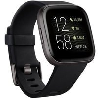 Smartwatch - Zegarek Fitbit Versa 2 czarny